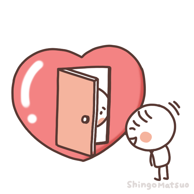 心の扉の画像